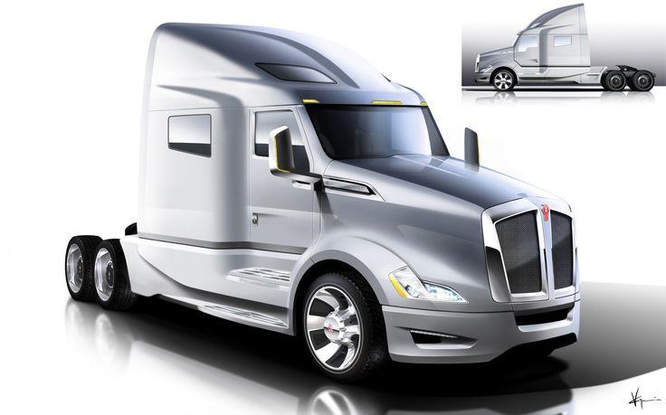 Kenworth T680 concept | Theme - Truck Design | Pinterest ...