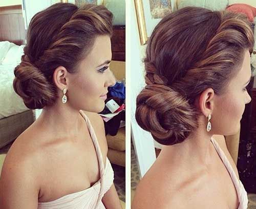 U201cLast Week Wedding Hairstyle For A Beautiful Bridesmaid . Hair By : .
