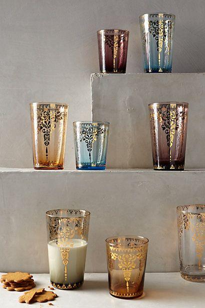 Palace Trellis Glass - anthropologie.com