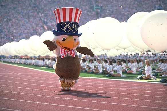 Olympic mascots through the years