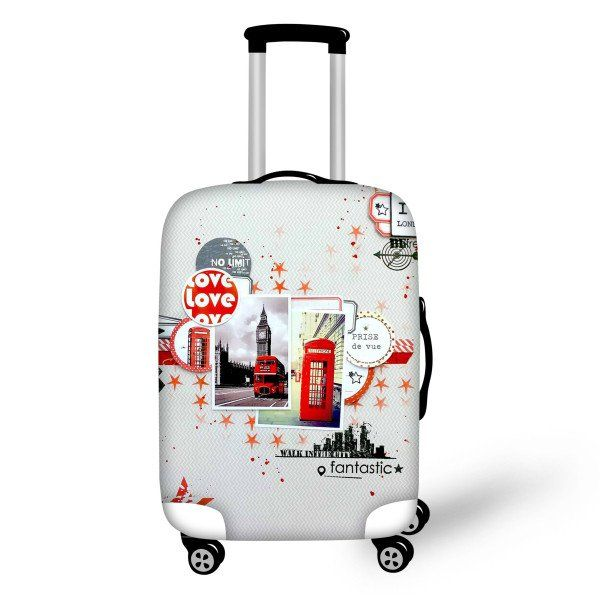 Smart Luggage Cover We Love London - FREE SHIPPING!
