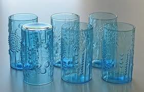 Oiva Toikka Flora glasses, Finland