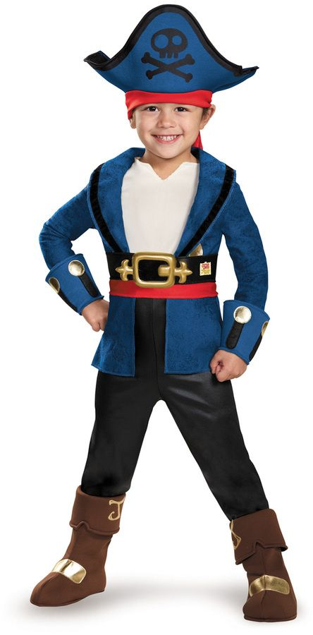 halloween costumes for boys pirates of the caribbean jack deluxe dressup set