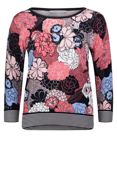 db9a887ea324 Betty Barclay Strickpullover, Pink Dark Blue - Pink, 38 Jetzt bestellen  unter  https   mode.ladendirekt.de damen bekleidung pullover sonstige-pullo…
