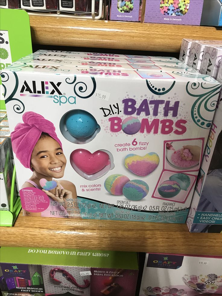 Make your own bath bombs#kids #create #fun #toys #toystore #diy #crafts #crafty #create #imagine #imagination #imaginationstation