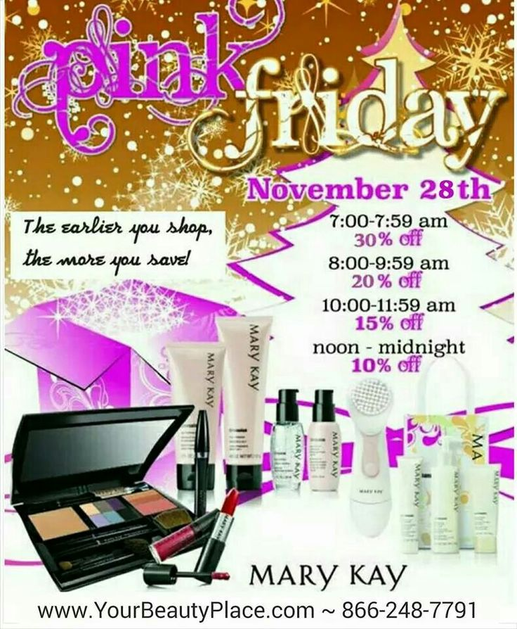 Black Friday Sale 2015 Mary kay holiday, Mary kay