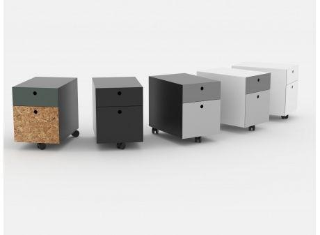 K2 Caddy // mobil og personlig skuffekassette. Design: Friis & Moltke.