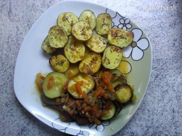 Jednoduché pečené baby zemiačky (fotorecept)