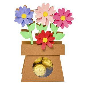 Silhouette Design Store - View Design #127691: cute vase flowers box