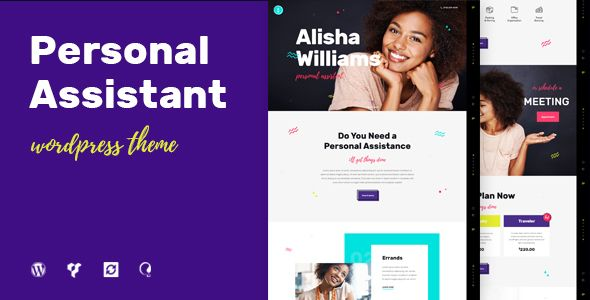 A.Williams  Personal Assistant & Administrative Services by axiomthemes CURRENT VERSION 1.1 (see Change log at the bottom of this page) This is a perfect WordPress solution for personal assistants, adv