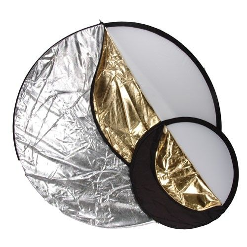 5-in-1 reflector is an easy-to-carry on location solution; it helps to fill in shadows with light, as well as take light away when there is too much #Photography