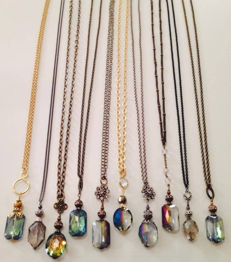Bohemian Chic Necklaces: would really love some of these for my summer wardrobe