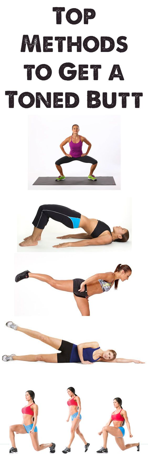 Top Methods To Get A Toned Butt