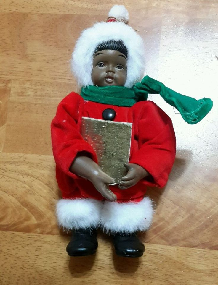 32 best african american christmas decor images on for African christmas decoration