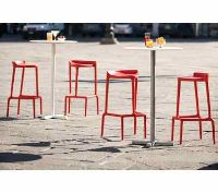Happy Stool - stackable, versatile & unique - for outdoor use. #contractfurniture #outdoorfurniture #stools