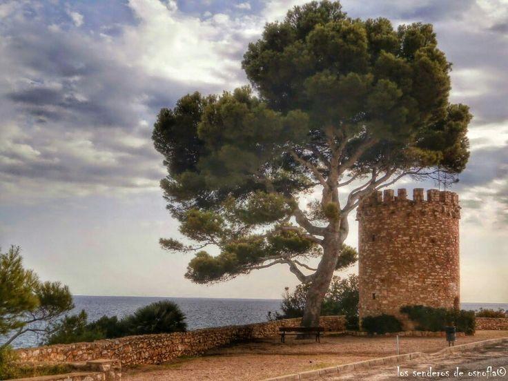 Torreón de Miami , antiguamente Torre dels Penyals, Miami Playa Mont-roig del Camp, Tarragona