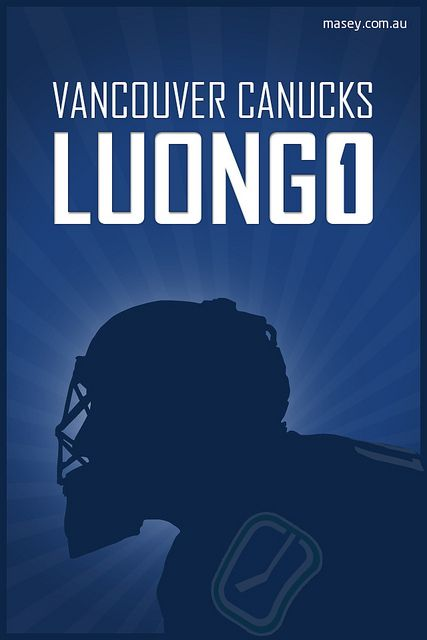 Vancouver Canucks Luongo, Jersey Number: 1, iPhone 4 Wallpaper | Flickr - Photo Sharing!