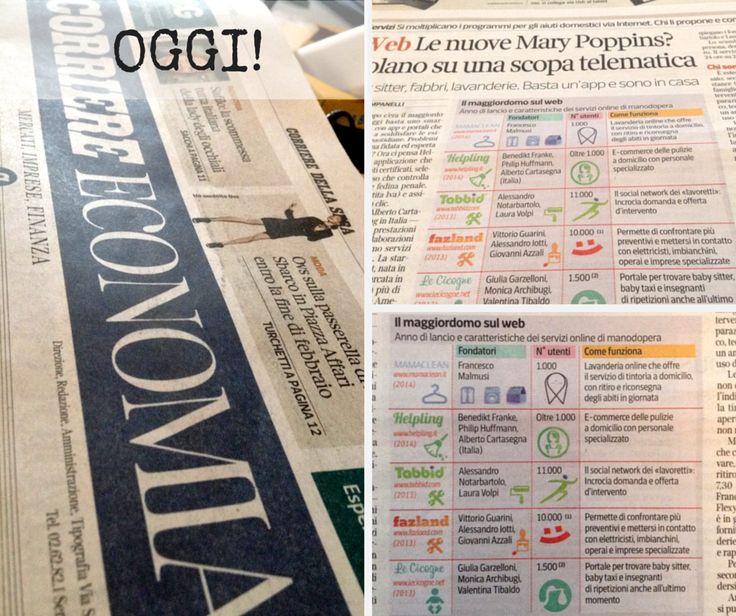 #Fazland su #Corriere Economia per la sezione Media&Tech! #startup #failacasagiusta #tech #happiness