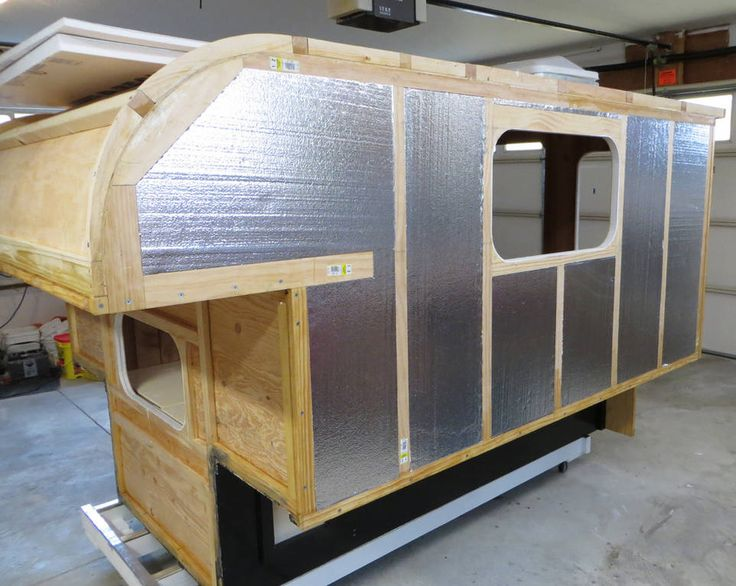 Build your own camper or trailer glen l rv plans tiny for Diy build your own house