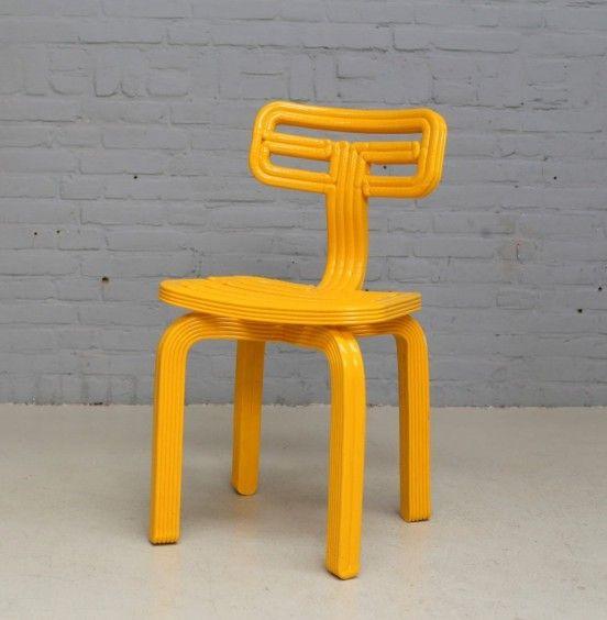 3D Printed Chubby Chair by Dirk Vander Kooij