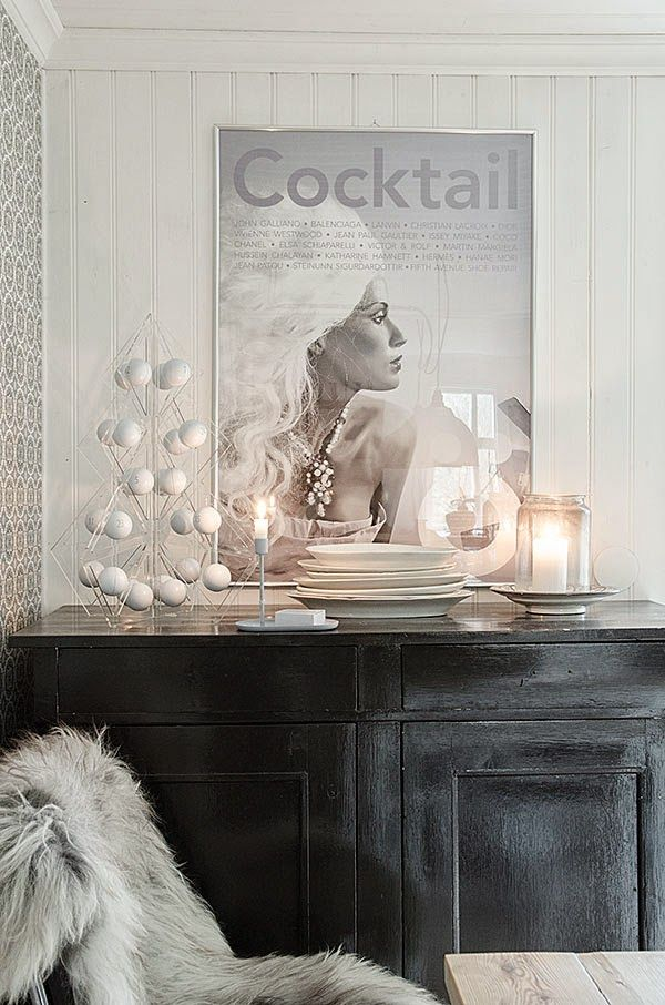 Stylish tree24 advent calendar decoration photographed by Anna Truelsen