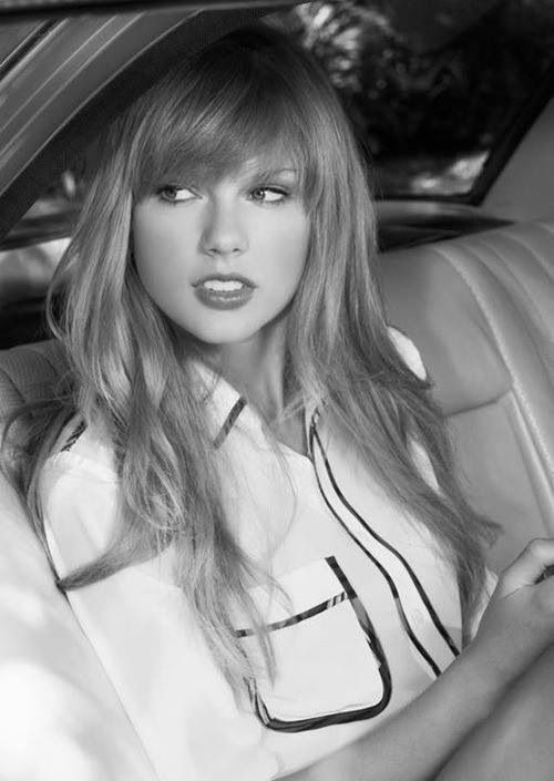 Taylor swift is such a great role model her quotes are so inspiring and I can relate to her songs so well and yah love her hair(bangs)❤️