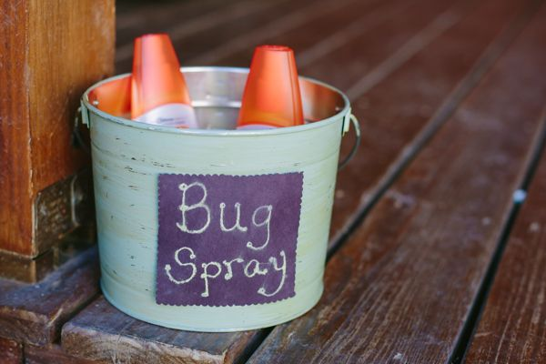 It would be nice to offer bug spray and tissue packets for everyone if possible. Deet free bug spray. ;)