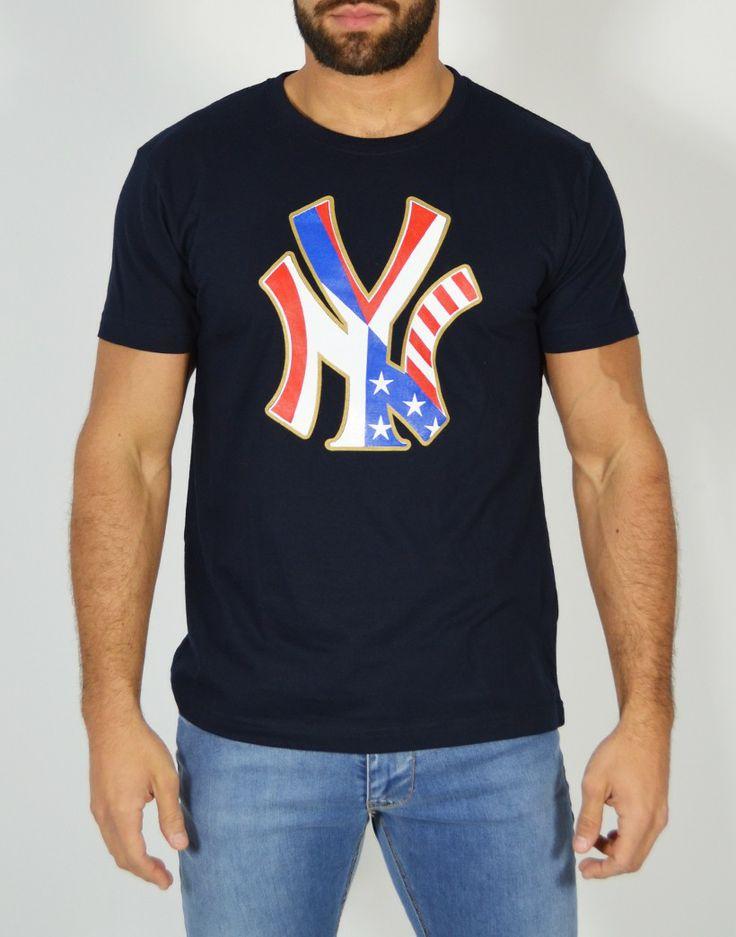 Camiseta New York: Lo Yankee está de moda en Tiendas13.com http://tiendas13.com/camisetas-hombre/2128-camiseta-new-york.html
