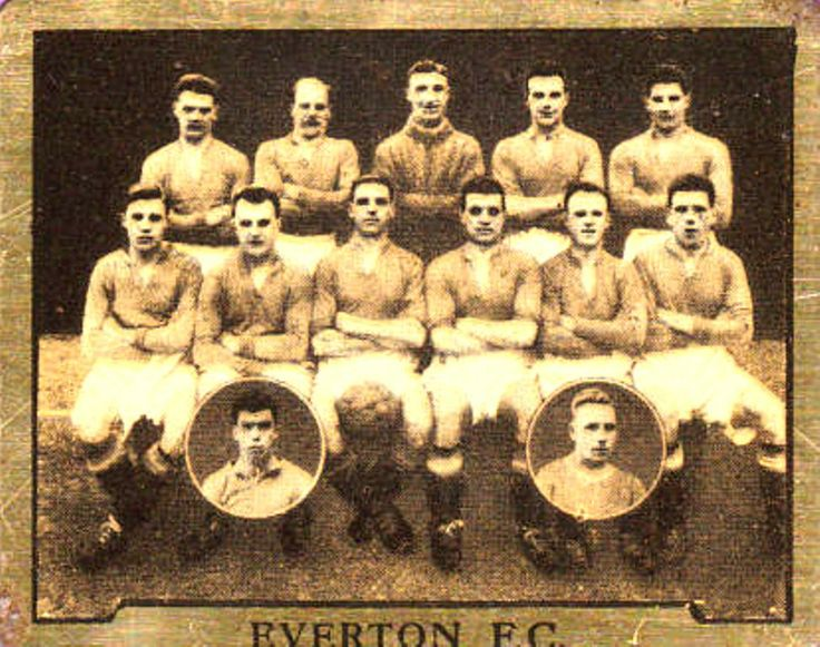 Everton card 1924
