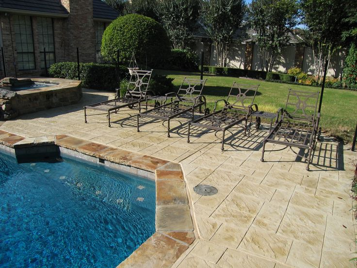 75 Best Images About Stamped Concrete On Pinterest
