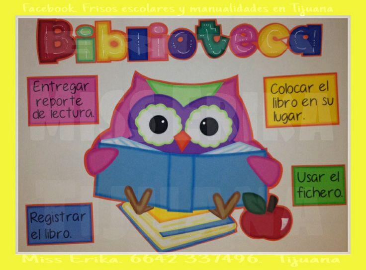Biblioteca buhos | Preescolar | Pinterest
