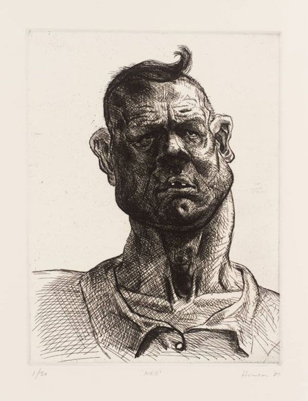Peter Howson - Ned (1987)