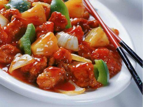 Main, CM22, Pork Sweet and Sour Pork, Chinese