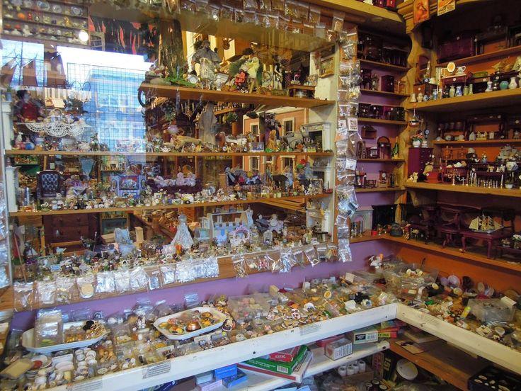 the small desk: Kristin Baybars' Dolls House Shop | The Small Desk