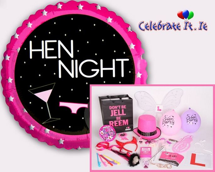 Latest Hen party accessories for perfect hen party decoration