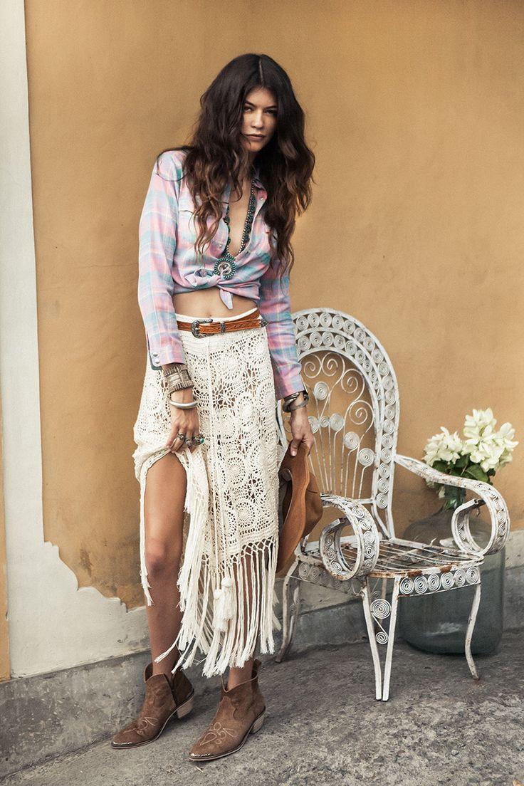 The Margarita Crochet Skirt