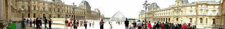 Por Aí e Aqui: Paris V (Museu do Louvre)