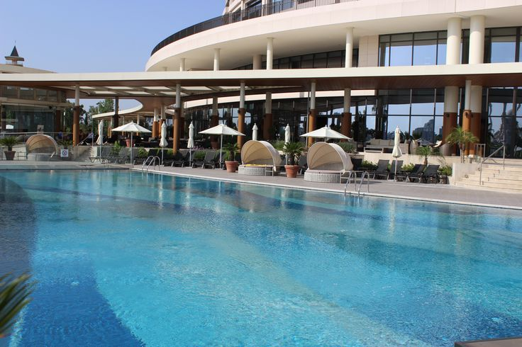 Enjoy the outdoor pool during summer!