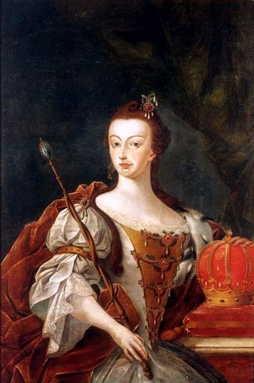 Dona Maria I, Queen of Portugal; José Leandro de Carvalho, 1808.