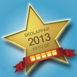 Best of Skolappar 2013