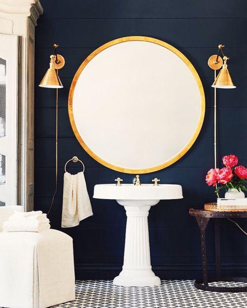 25 Best Ideas About Navy Bathroom On Pinterest Navy Bathroom Decor Navy Blue Bathroom Decor