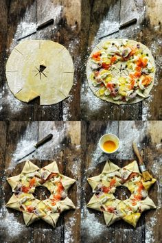 Star pizza - Recipe in English...