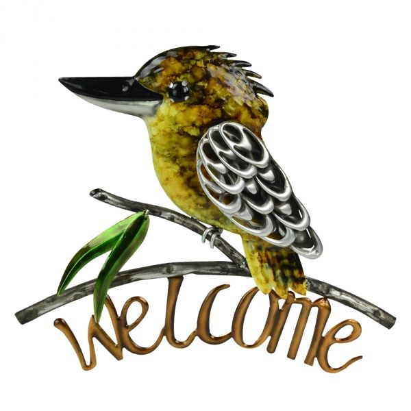 Metal Wall Decor Animals : Home metal wall art wildlife decor birds