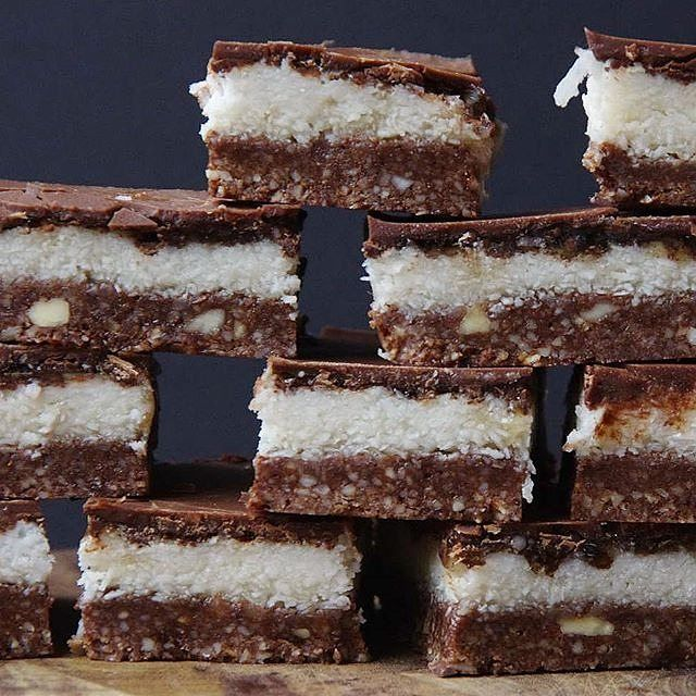 Bounty Bar slice - It's just as bountiful but twice as healthy! Grab your hands on this recipe from Sarah Wilson's 'I Quit Sugar: Simplicious'. nicky.skinner