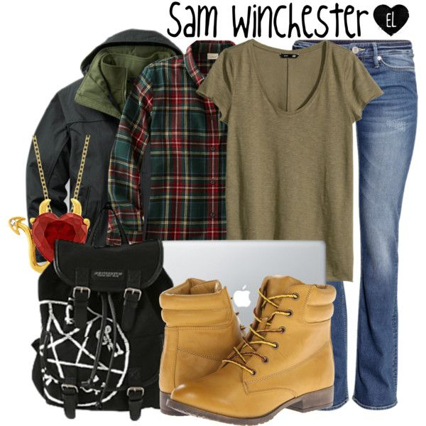 """Sam Winchester -- Supernatural"" by evil-laugh on Polyvore"
