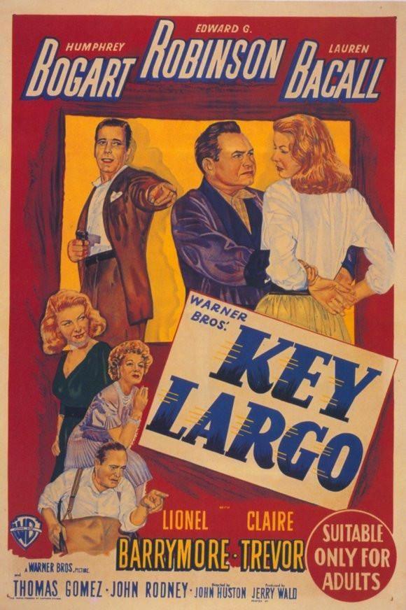Key Largo 11x17 Movie Poster (1948)