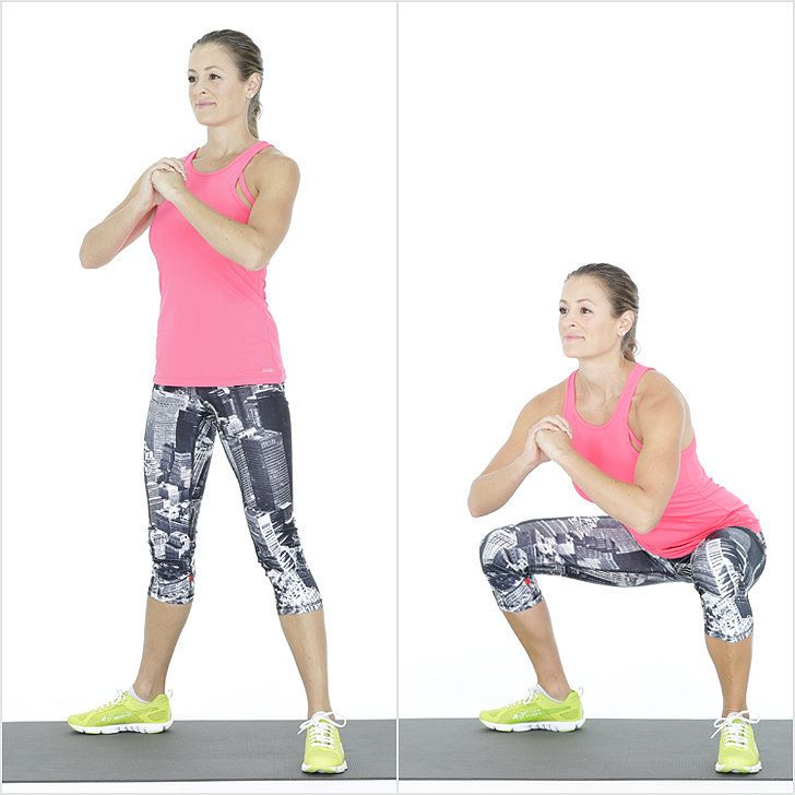 This workout, including warmup and cooldown, only takes between 20 and 30 minutes. No excuses!