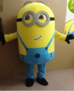 Free ship 14 design Halloween Outfit Costumes suit Despicable me minion mascot costume for adults despicable & Free ship 14 design Halloween Outfit Costumes suit Despicable me ...