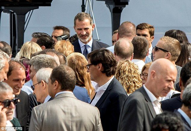 Catalan Separatists Protest As Royal Visits Barcelona Spanish King Visit Barcelona Coastal Towns