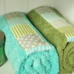 50 scrap busting projects! love these towels!
